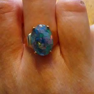Jewelry - Black opal ring